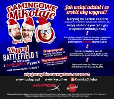 Konkurs Gamingowe Mikołaje