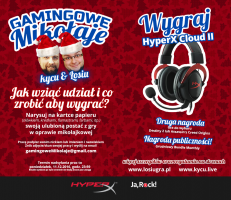Plakat Gamingowe Mikołaje 2017